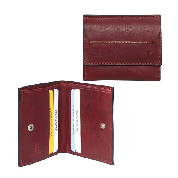 DE ROOY dR Amsterdam Unisex Billfold Waxi Red 78535 Cna9Rrb
